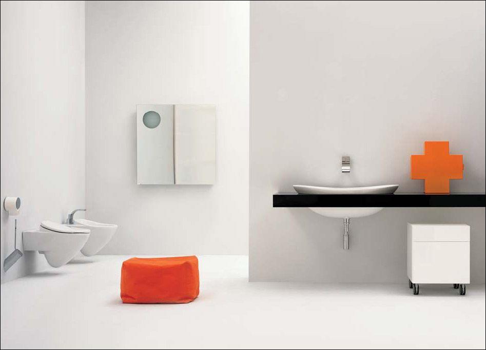 Linee essenziali e design contemporaneo ed innovativo questo è ceramiche flaminia www