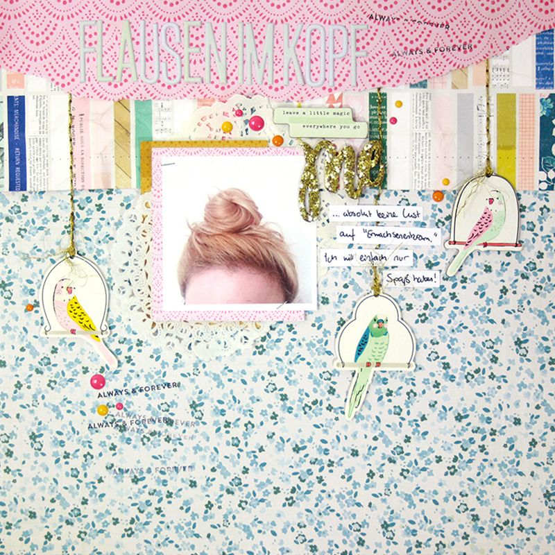 Designer Spotlight With Paige Evans Julia Klein Stamp Scrapbook
