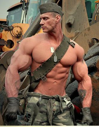 Military muscle tumblr