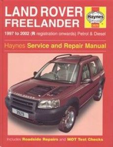 Haynes Service And Repair Manual 1997 To 2002 All Models Except V6 Petrol Land Rover Todo Terreno