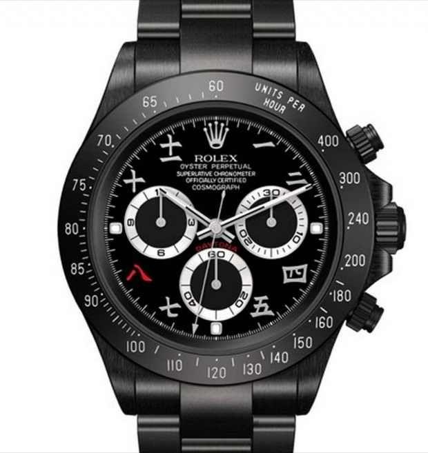 #Black-#Daytona-#Rolex-by-BrevetPlus Object of #desire #design