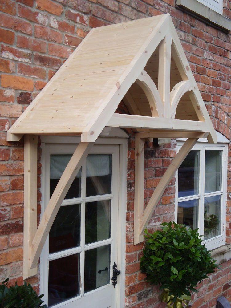 Timber Front Door Canopy Porch SHROPSHIRE DOOR CANOPIES Curved Gallows In  Home, Furniture U0026 DIY, DIY Materials, Doors U0026 Door Accessories | EBay