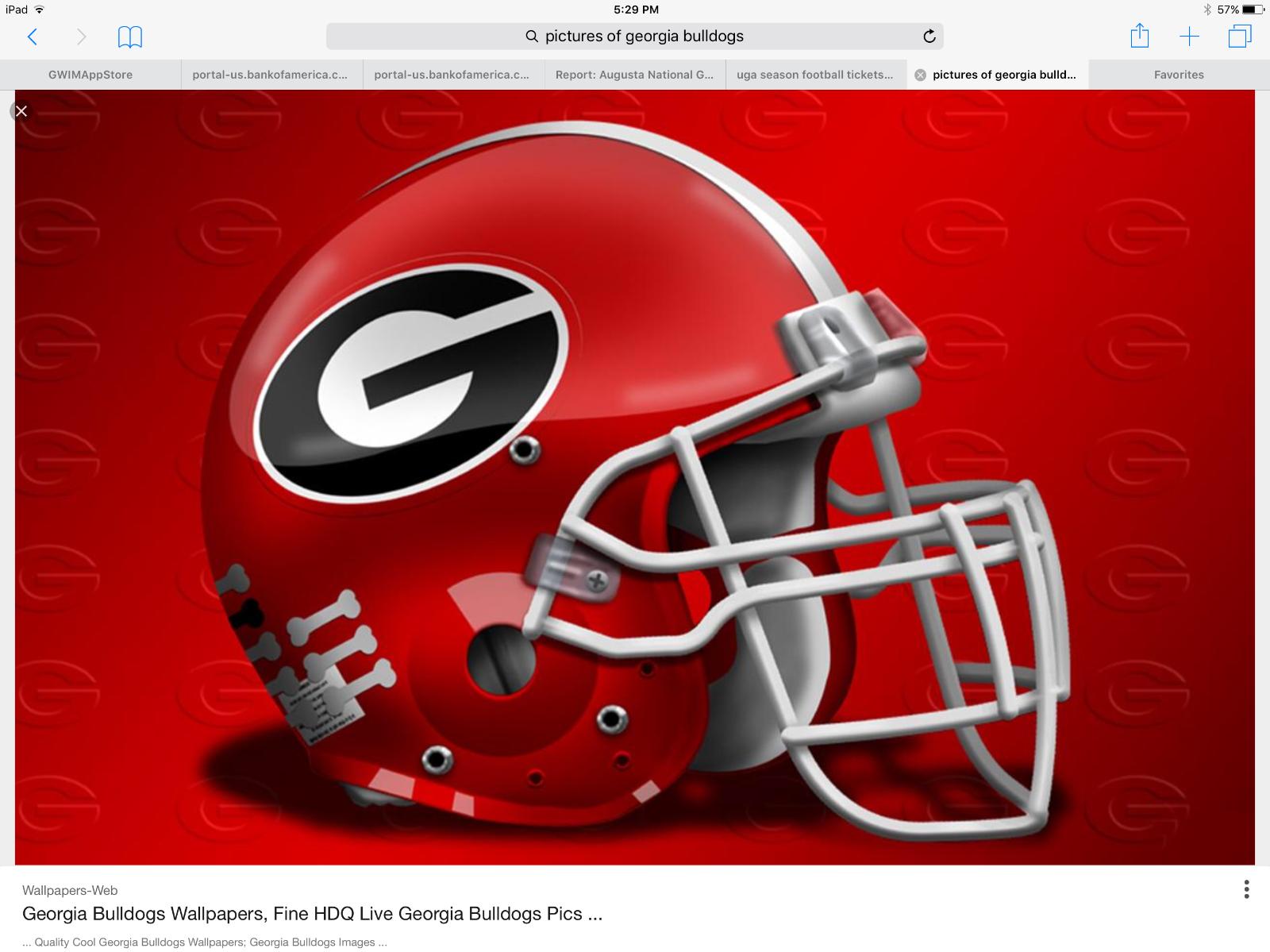 #tickets 4 Georgia Football Tickets vs. South Carolina ...