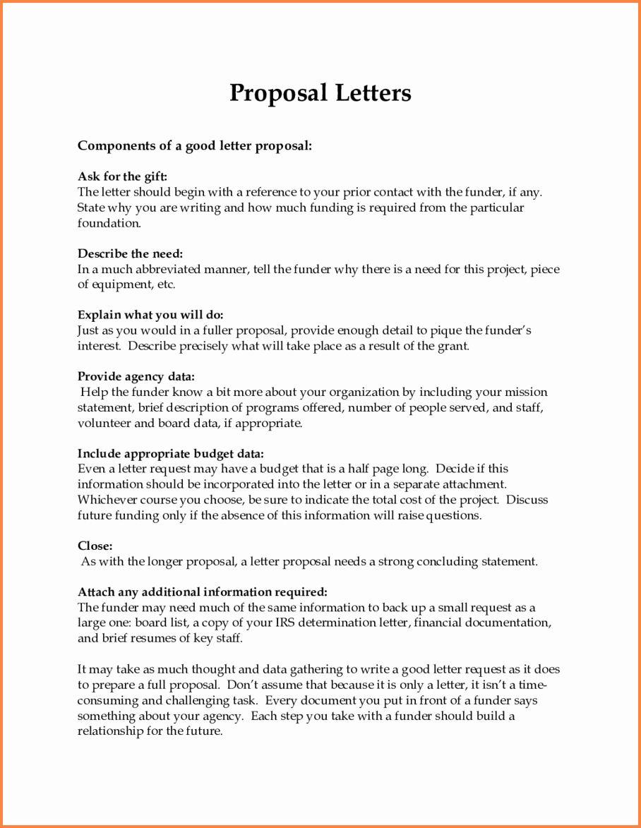Sample Business Proposal Letter for Partnership Unique 12