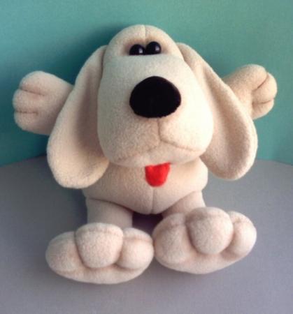 выкройка игрушки <i>руками</i> собаки - шьем игрушки своими руками