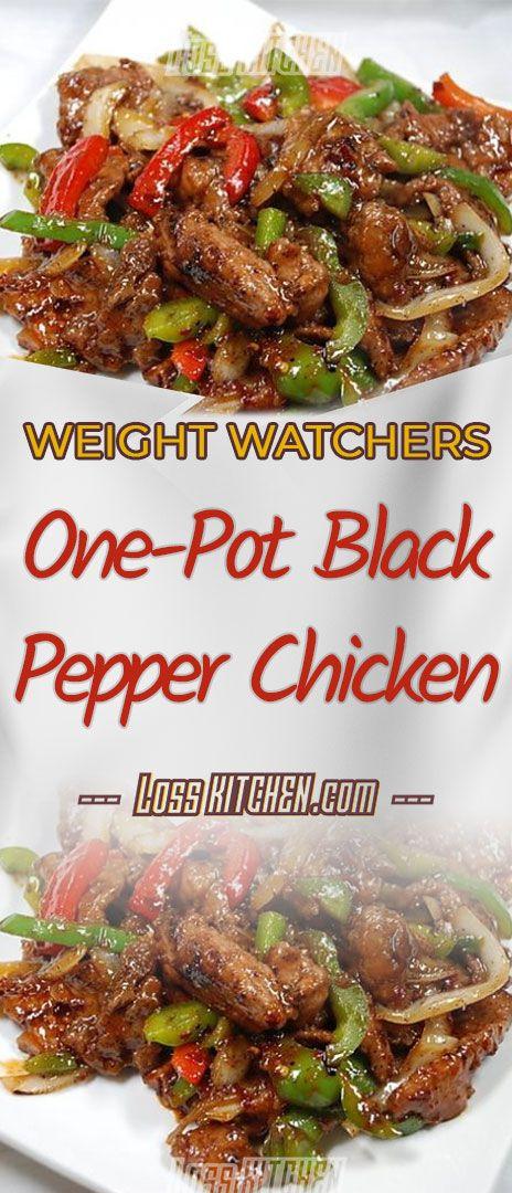 Photo of ONE-POT BLACK PEPPER CHICKEN