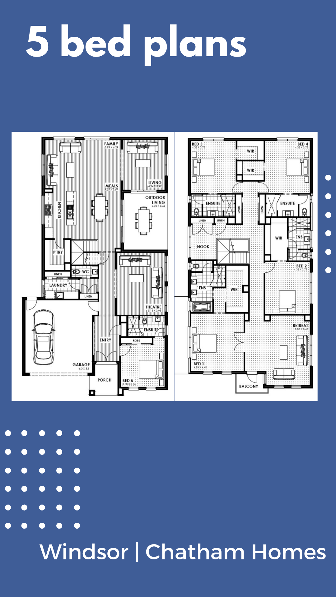 Windsor By Chatham Homes 5 Beds 5 5 Baths 2 Cars 47 17 Square New Home Design New Home Designs House Blueprints House Design