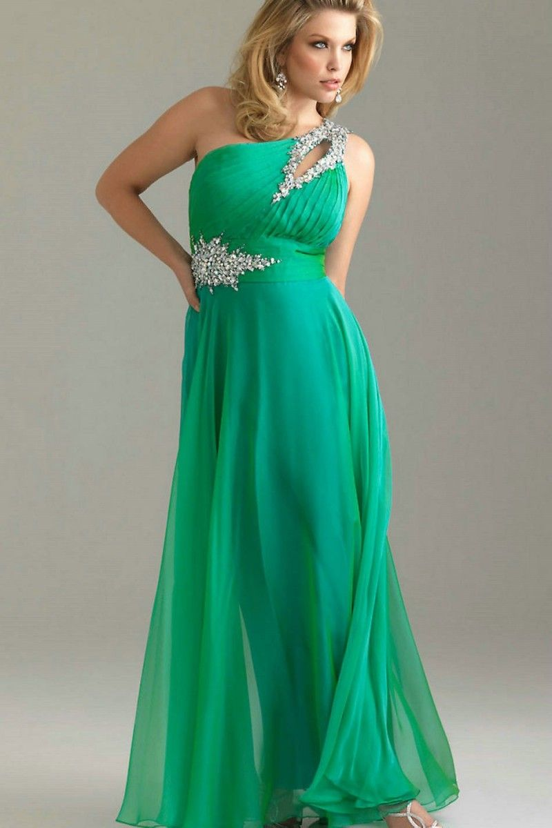Plus Size Evening Dresses. Beautiful! Saw one just like it at http ...