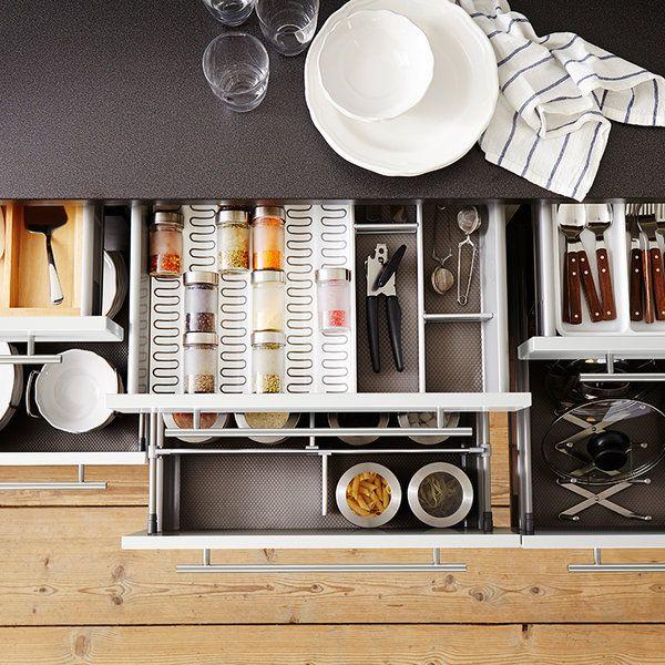 Ikea cocinas muebles auxiliares great ests pensando en renovar tu cocina pues debes saber que - Mueble microondas carrefour ...