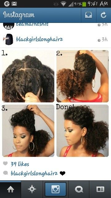 Old Twist Out Style Hair Stuff Pinterest Natural Hair Styles