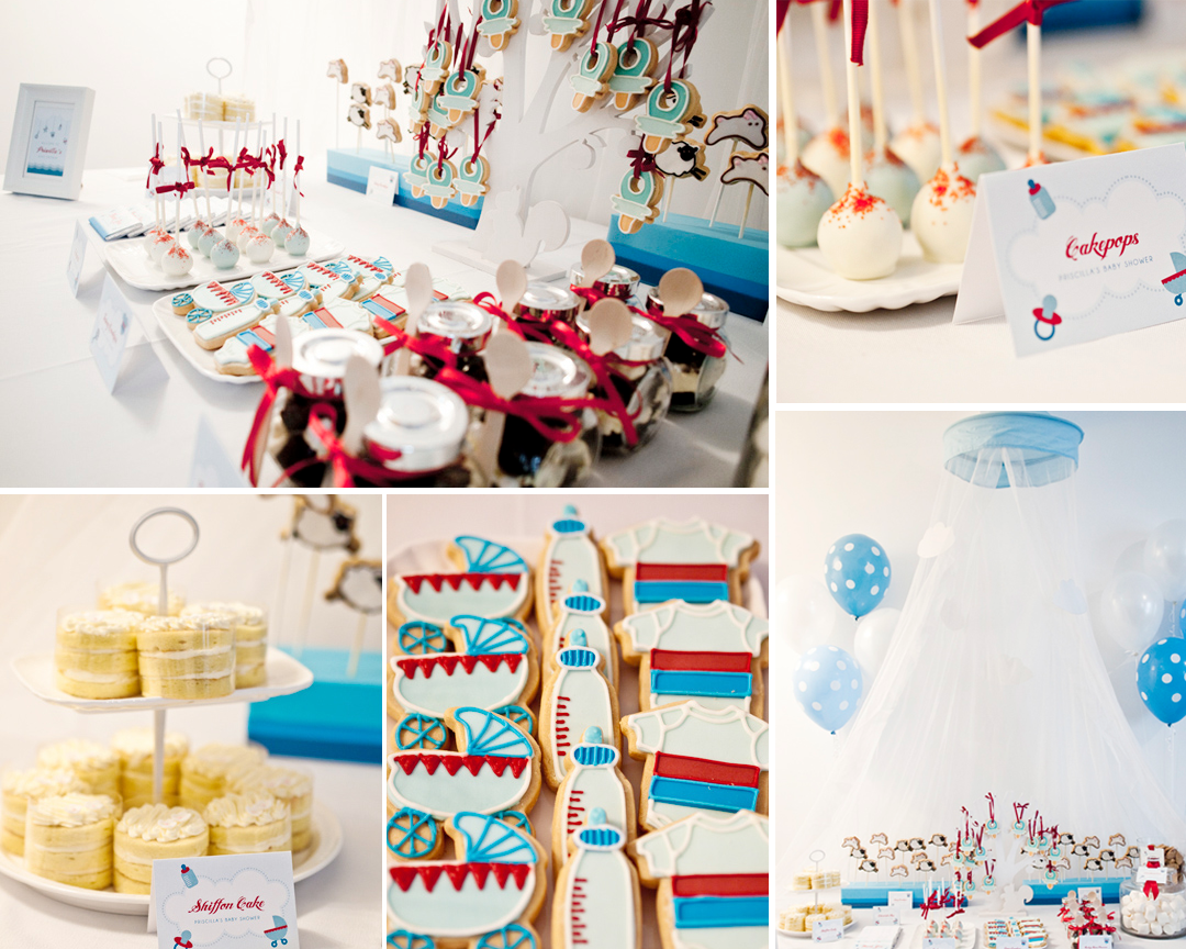 Baby Things Themed Baby Christening and Shower