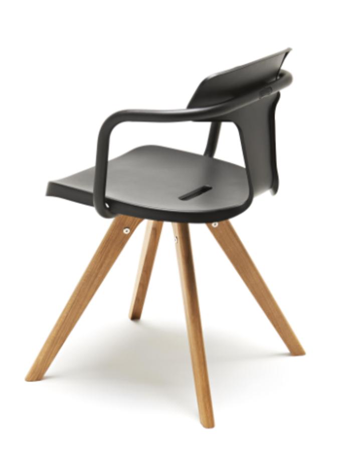 chaise tolix t14 bois by patrick norguet seat wood chair design chair et chair design. Black Bedroom Furniture Sets. Home Design Ideas