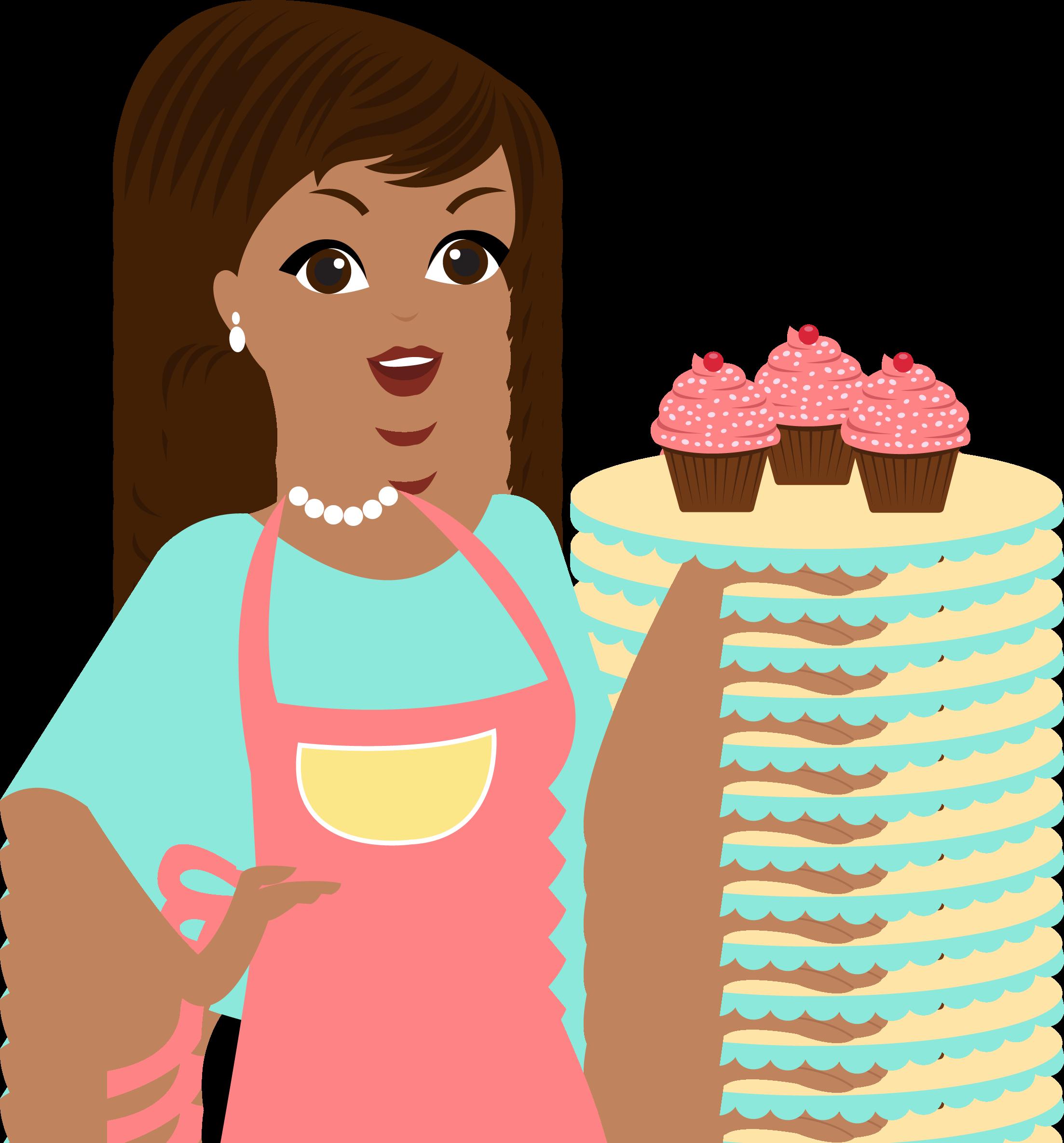 Pin de mar a vecchione en ponque 2 baking party decoupage y cupcakes - Kawaii kochen ...