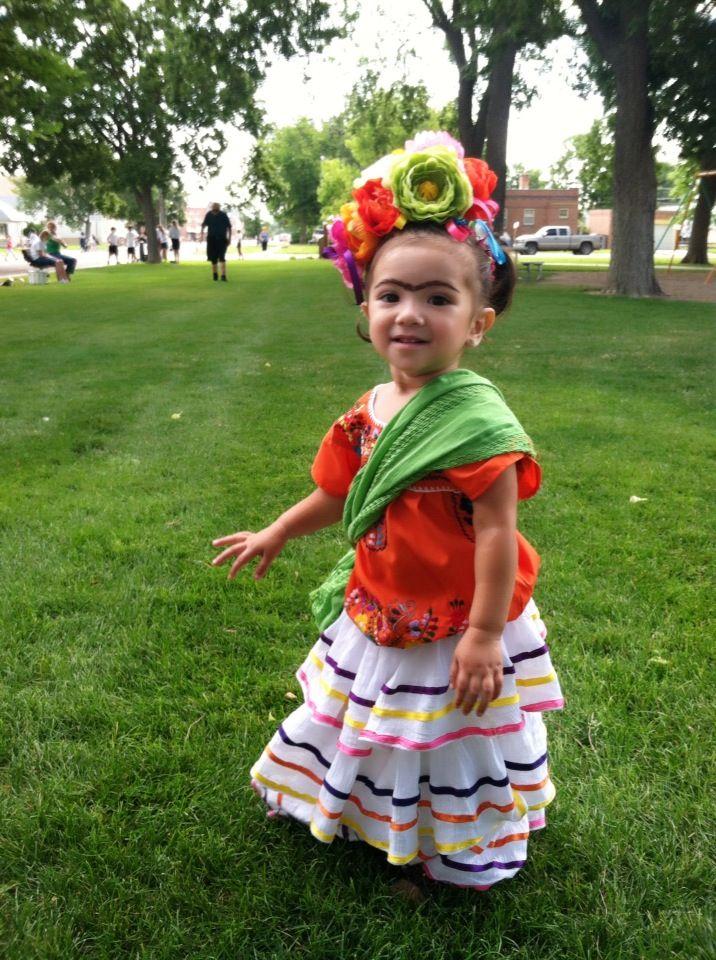 Frida kahlo costume misc pinterest d guisements jour de f te et f tes - Deguisement frida kahlo ...