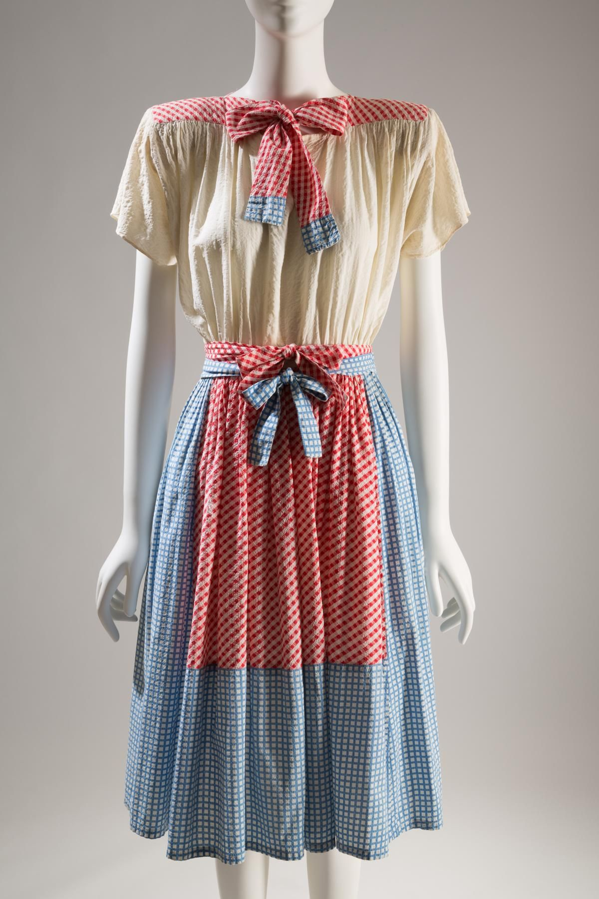 """The Wizard of Oz"": Adrian, dress, circa 1942, USA. Photo: The Museum at FIT."