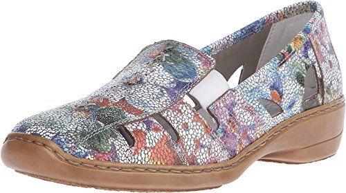 Rieker 41385 Doris 85 Ice Multi Womens Slip on Shoes