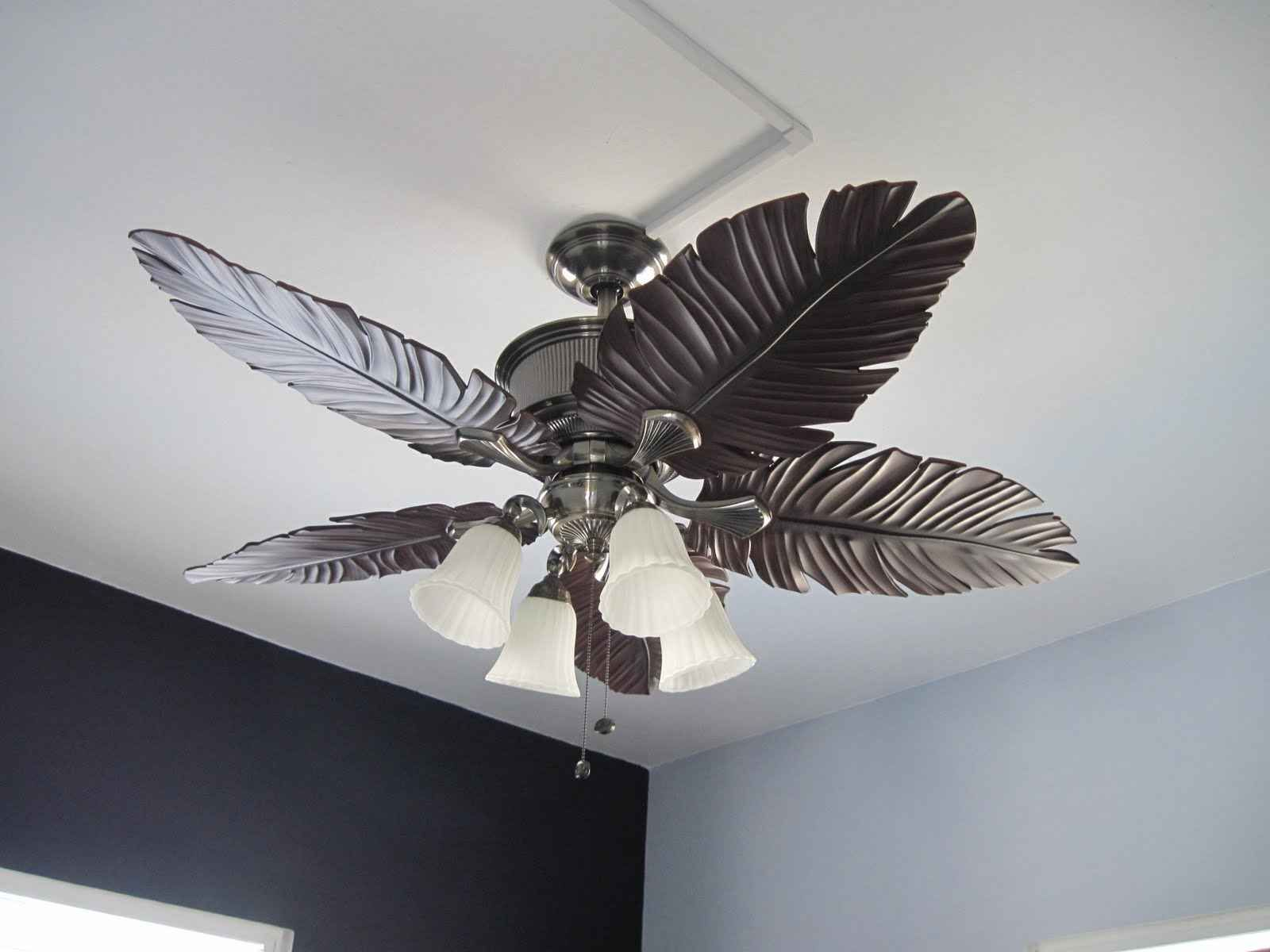Silver Ceiling Fan With Light Inspirations