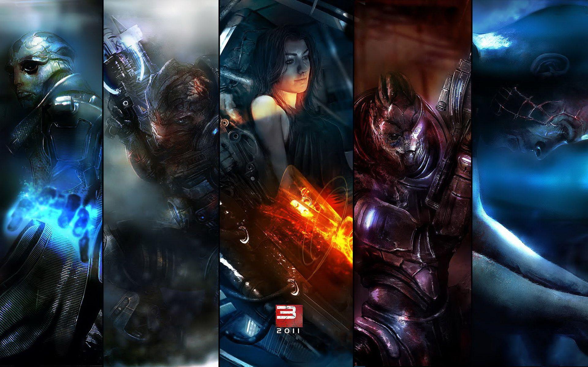2011 Mass Effect 3 Wallpapers HD Wallpapers Обои фоны