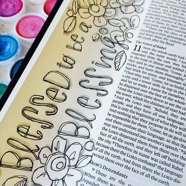 Bible Journaling - art by Stephanie Ackerman