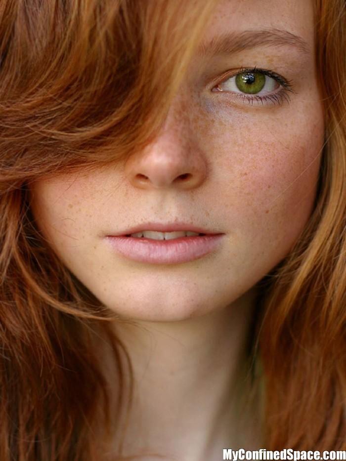 Green eyed redhead layouts