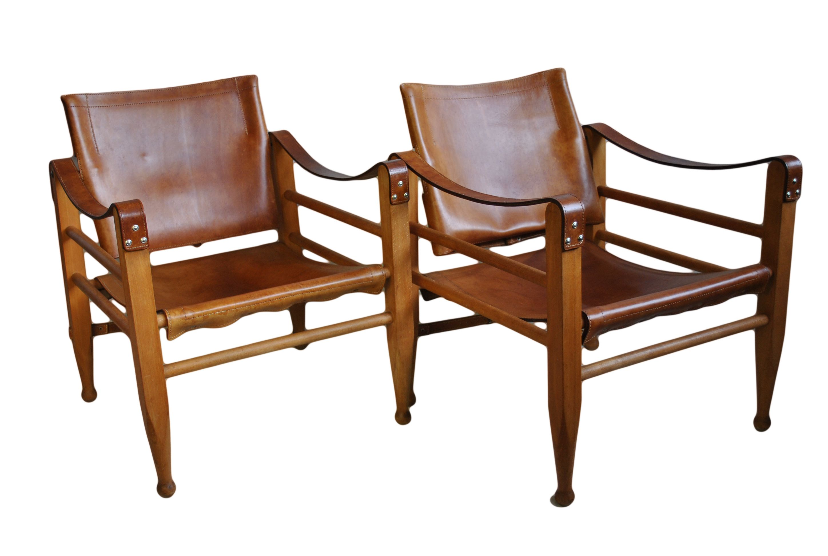 Safari Chairs Pair Of Borge Mogensen Safari Chairs Chairs Chair Outdoor