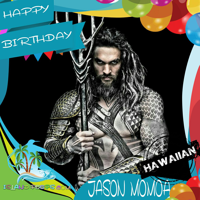 Jason Momoa Birthday Meme Famous Person