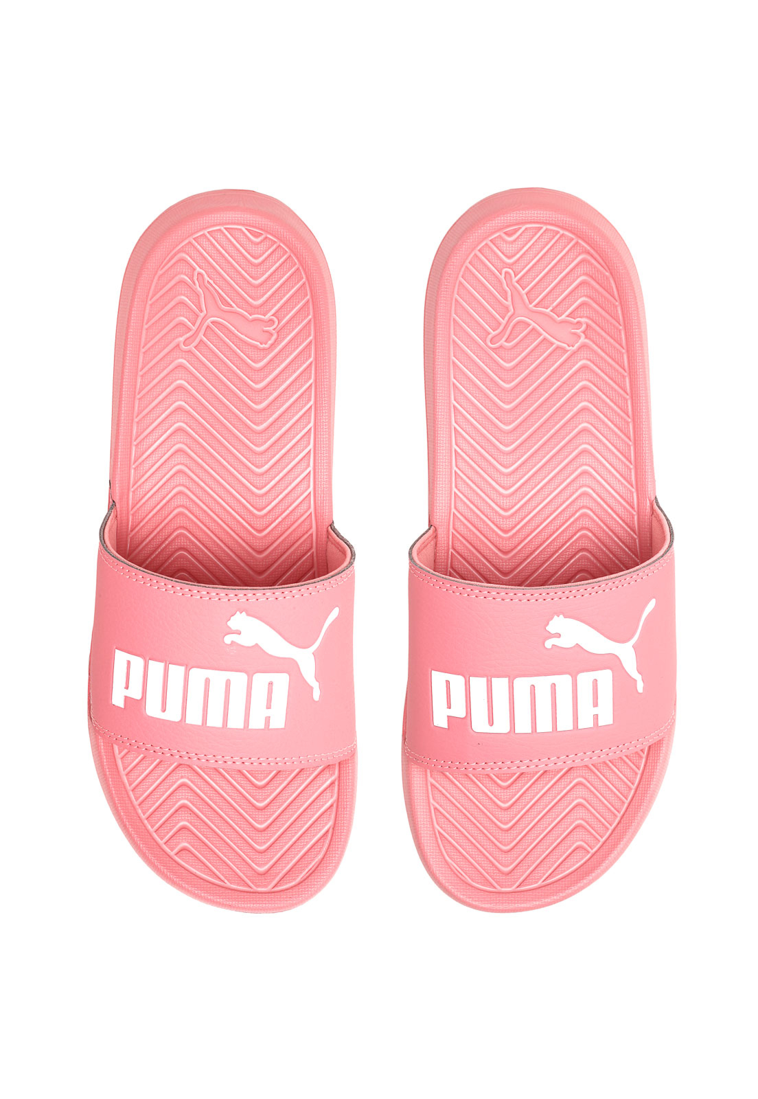 a0248322799 Chinelo Slide Puma Popcat Rosa - Marca Puma