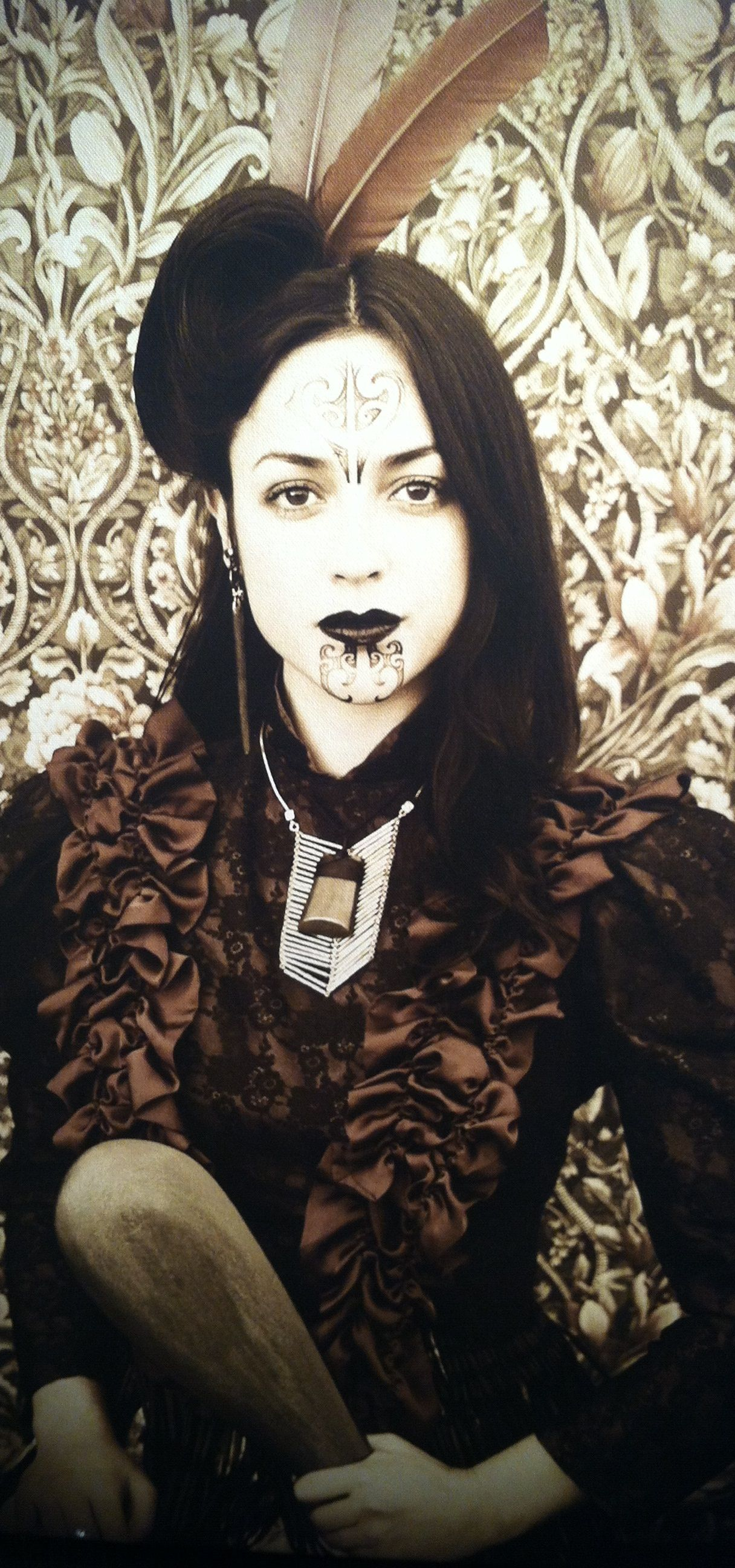 Maori Face Tattoo Designs Women: Model And ManagerOwner Of N Model Management
