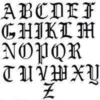 Old english chimney letters letters pinterest old english chimney letters thecheapjerseys Choice Image