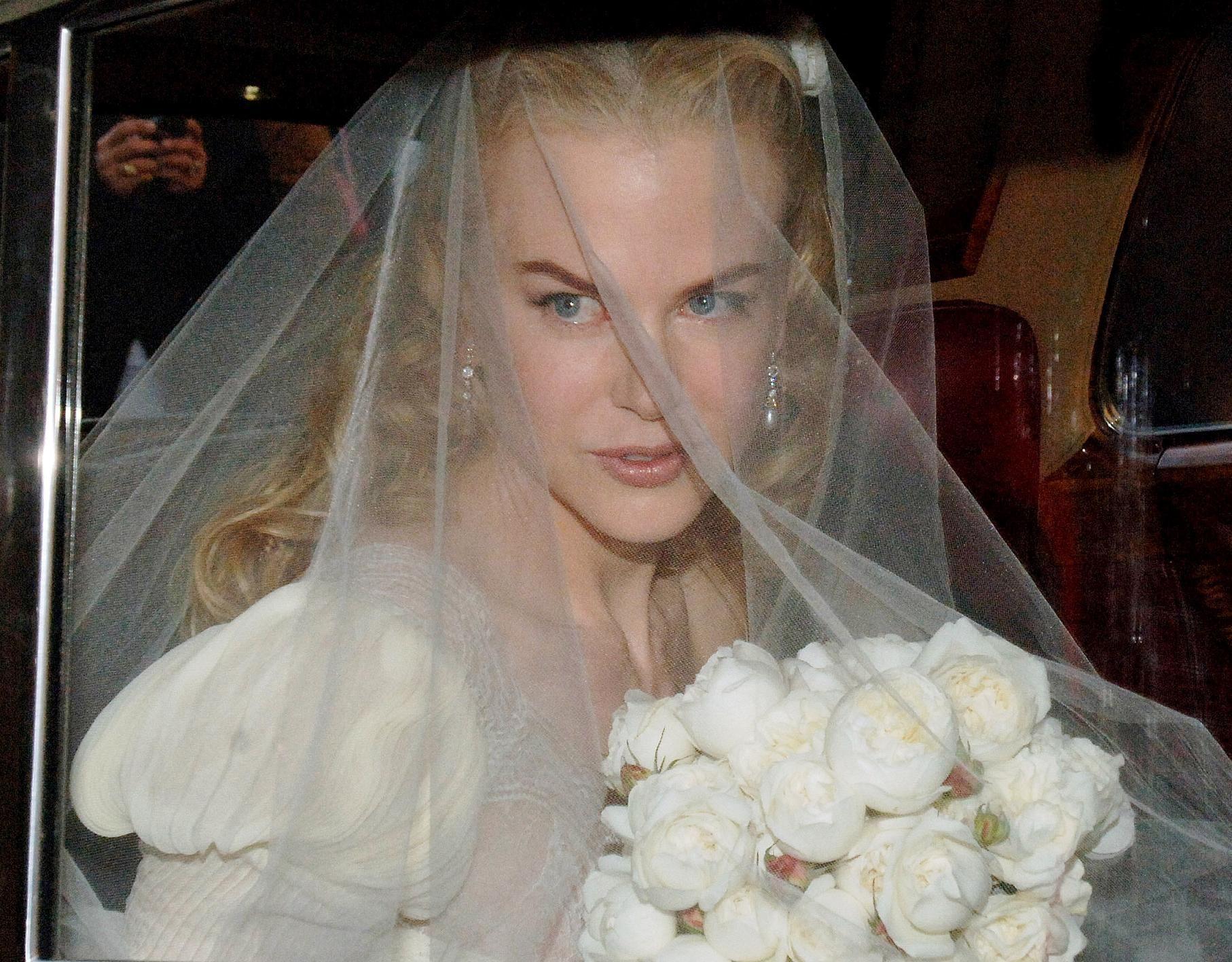 Nicole Kidman On Her Wedding Day Nicole Kidman Nicole Kidman