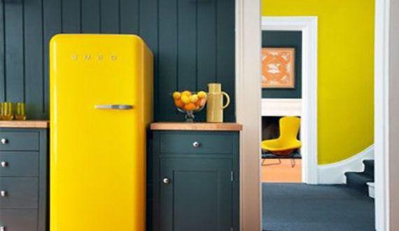 Retro Kühlschrank Günstig : Die küche mit retro kühlschrank ausstatten coole küchen ideen für