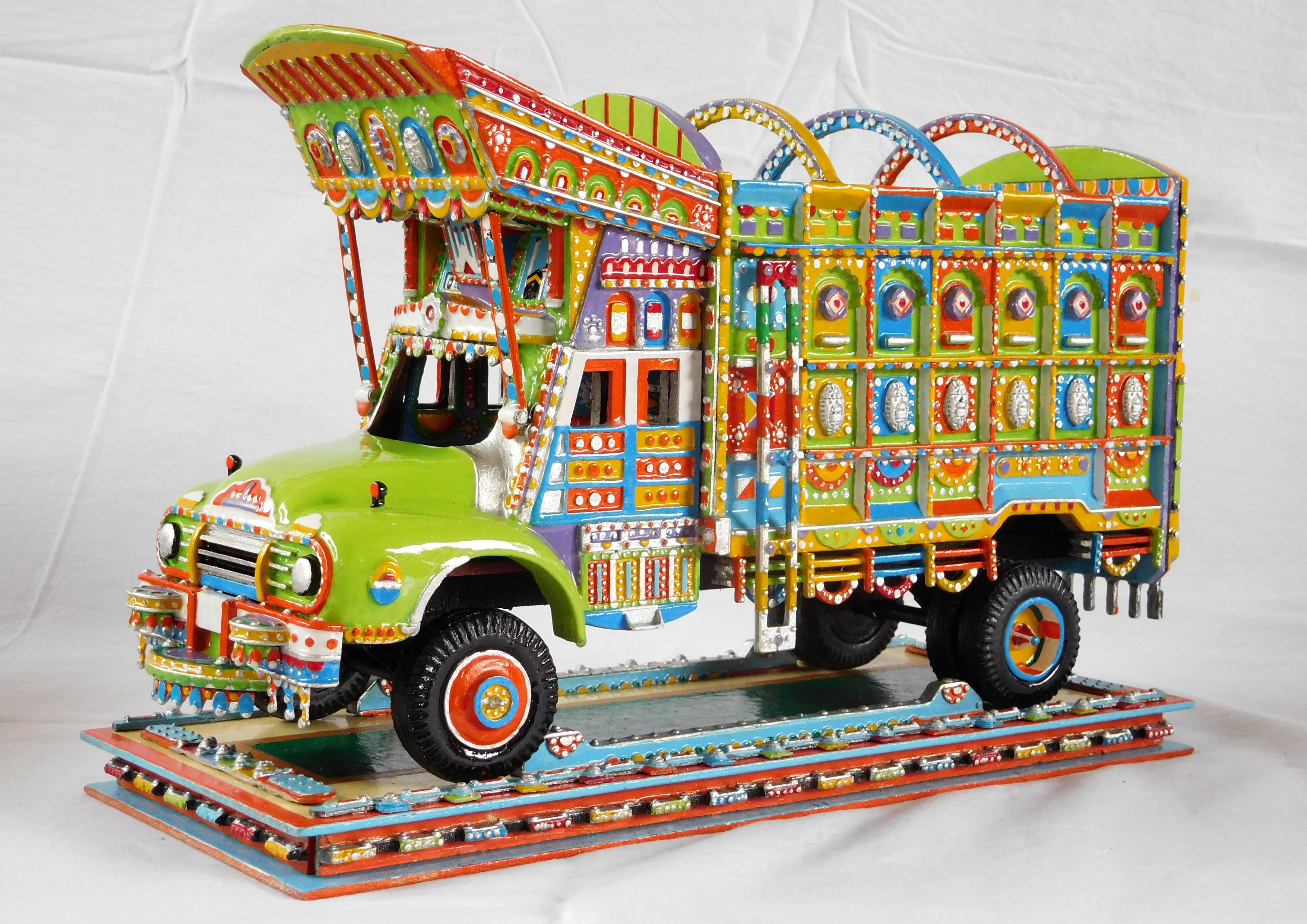 For sale at 119 on Etsy type Pakistan truck art