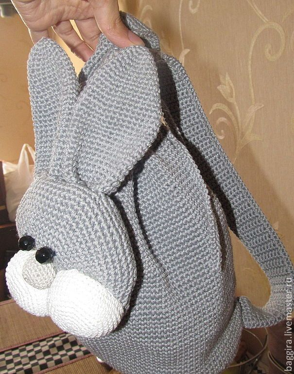 Детский рюкзак вязанный крючком рюкзаки более 90 литров цена