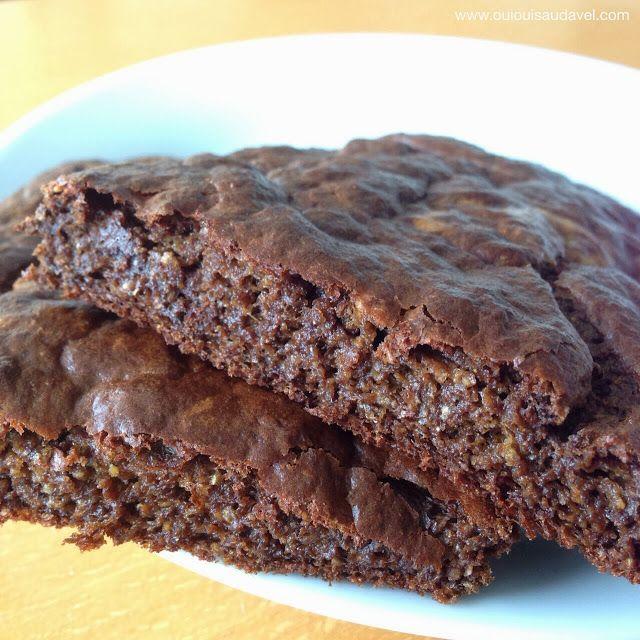 OuiOui Saudável: Pão de alfarroba que mais parece um brownie