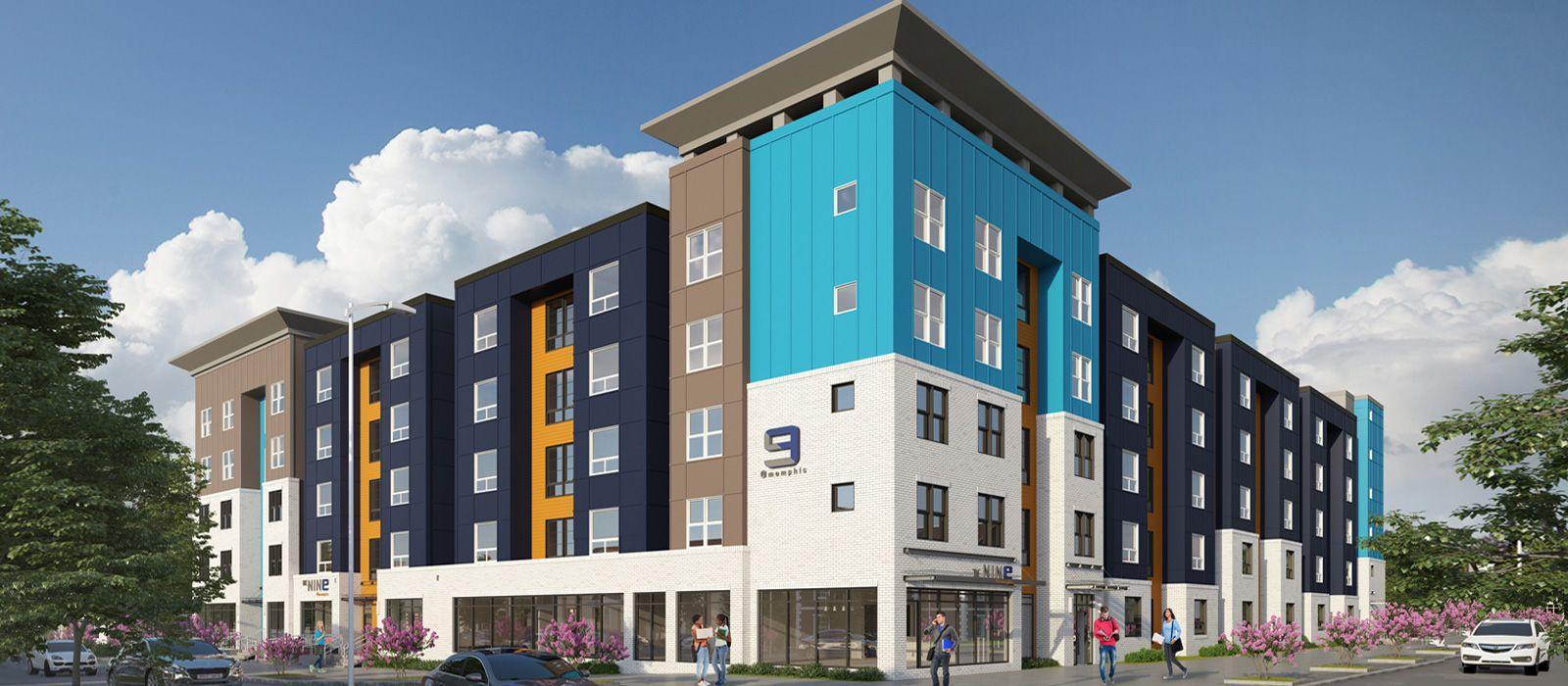 The Nine At Memphis Apartments In Memphis Tn Rentcafe Memphis Floor Plans The Nines