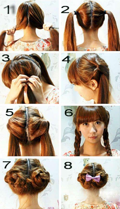 Красивые и быстрые прически на короткие волосы