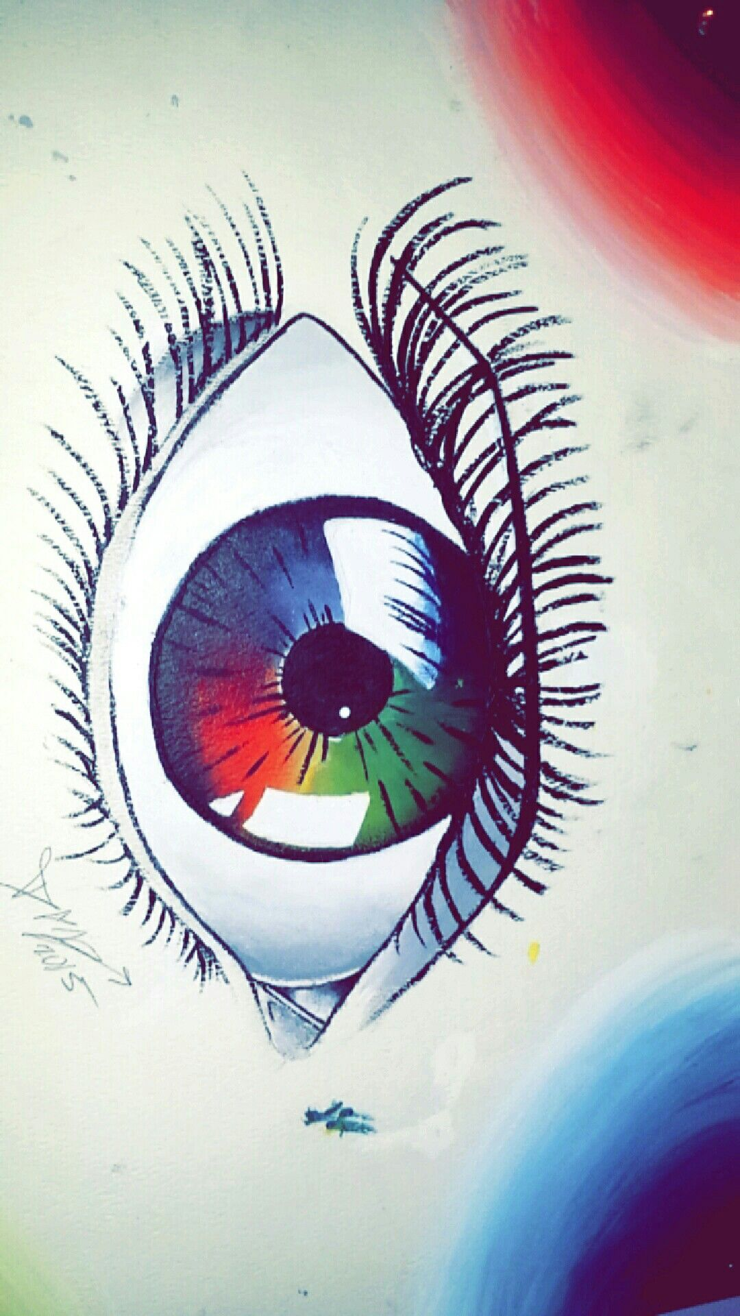 Color Wheel Eye Painting Projects Pinterest Eye Painting