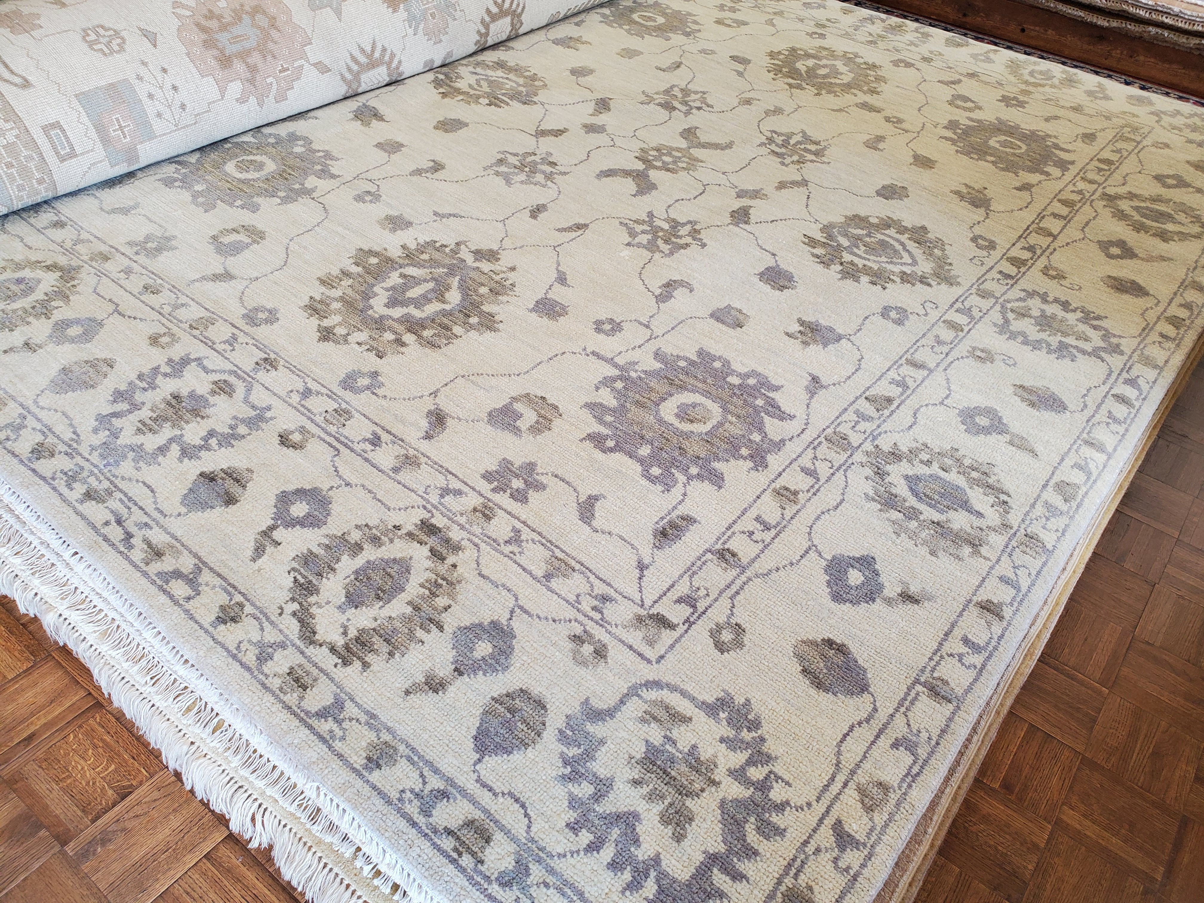 Oushaky Wispy Ways...  Vintage Oushak Oriental Rug  8x10  $1475 reduce from $3950 Call 205-870-4444 or drop by if it's for you!  Please share! 😉 #nilipourorientalrugs #MayDayDeal #familybusiness #since1972 #fullservice #shoplocal #happycustomer #artyoucantreadon #orientalrug #rug #arearug #naturalfibers #wholesaleprices #directimporting #affordableluxury #functionalrug #practicalrug #appeal #qualityrug #investment #conversationpiece #Lifestyle #rugcleaning #orientalrugcleaning #arearugcleaning