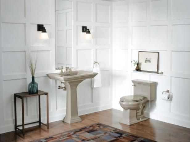 A Wooden Floor In A Bathroom Wood Floor Bathroom Bathroom Interior Hardwood Floors In Bathroom