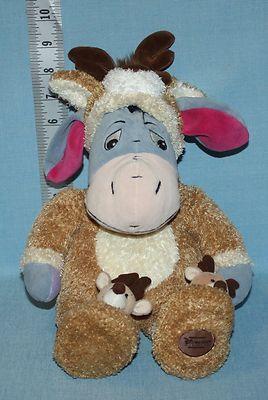 88b08efc5135 Disney Store REINDEER EEYORE SLEEPER Winnie the Pooh PLUSH