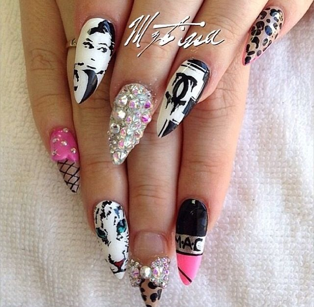 Dramatic Drag Queen Nails