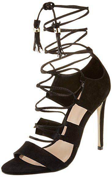 Shaylla - Sandales Bride Cheville - Femme - Noir (98 Black) - 39 EU (6 UK)Aldo bFlRg