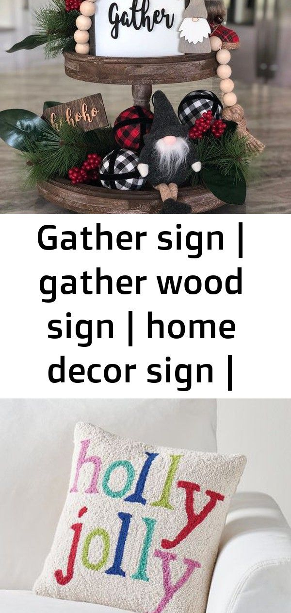 Gather sign   gather wood sign   home decor sign   thanksgiving signs   shelf sitter gather sign   2
