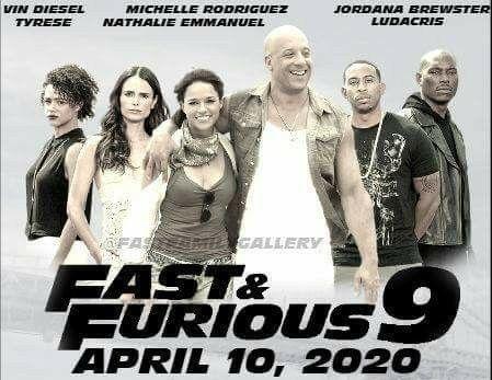 fast furious 9 april 10 2020 fast the furious 1 pinterest. Black Bedroom Furniture Sets. Home Design Ideas