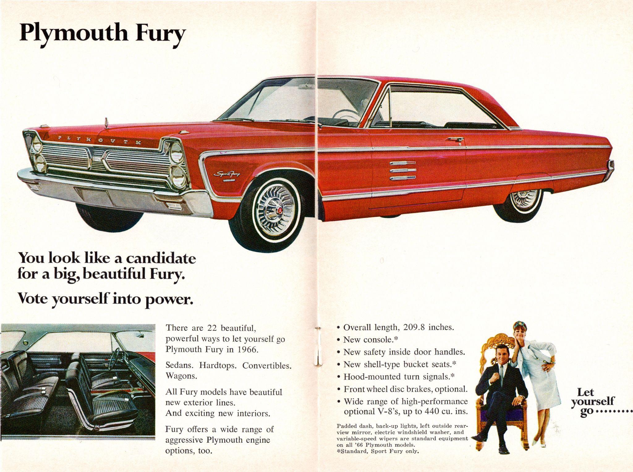 1966 Plymouth Sport Fury 2 Door Hardtop