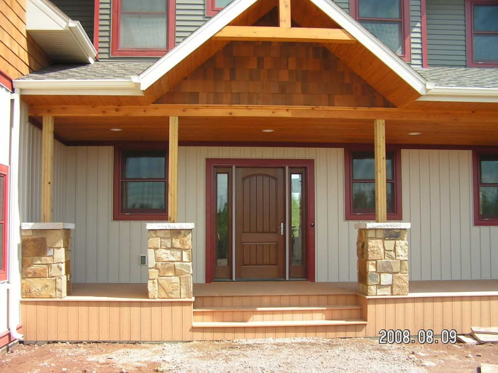 front porch columns - Google Search | For the house | Pinterest ...