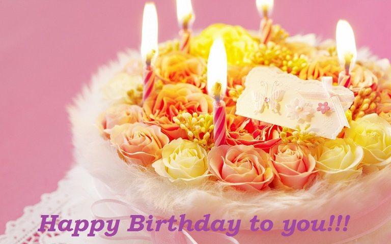 Happy Birthday cake images wishes Happy Birthday Pinterest