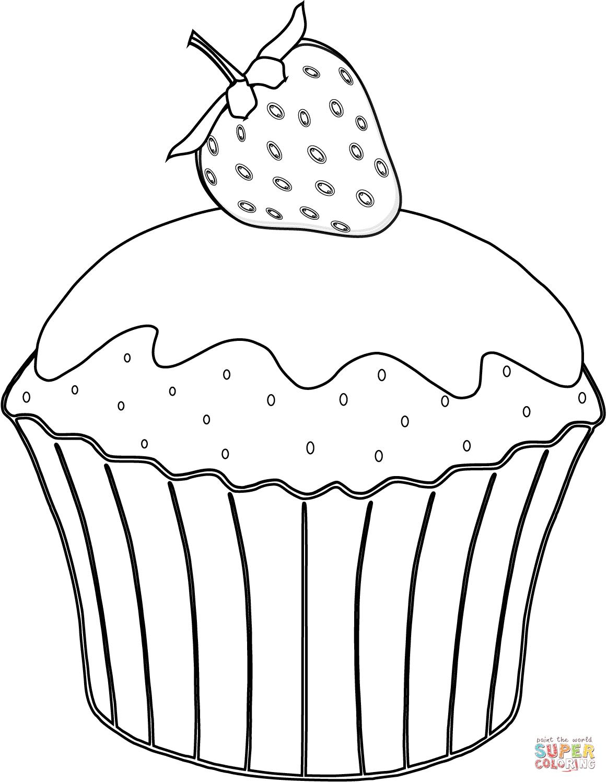 muffin coloring pages kolorowanki rysunek szablony