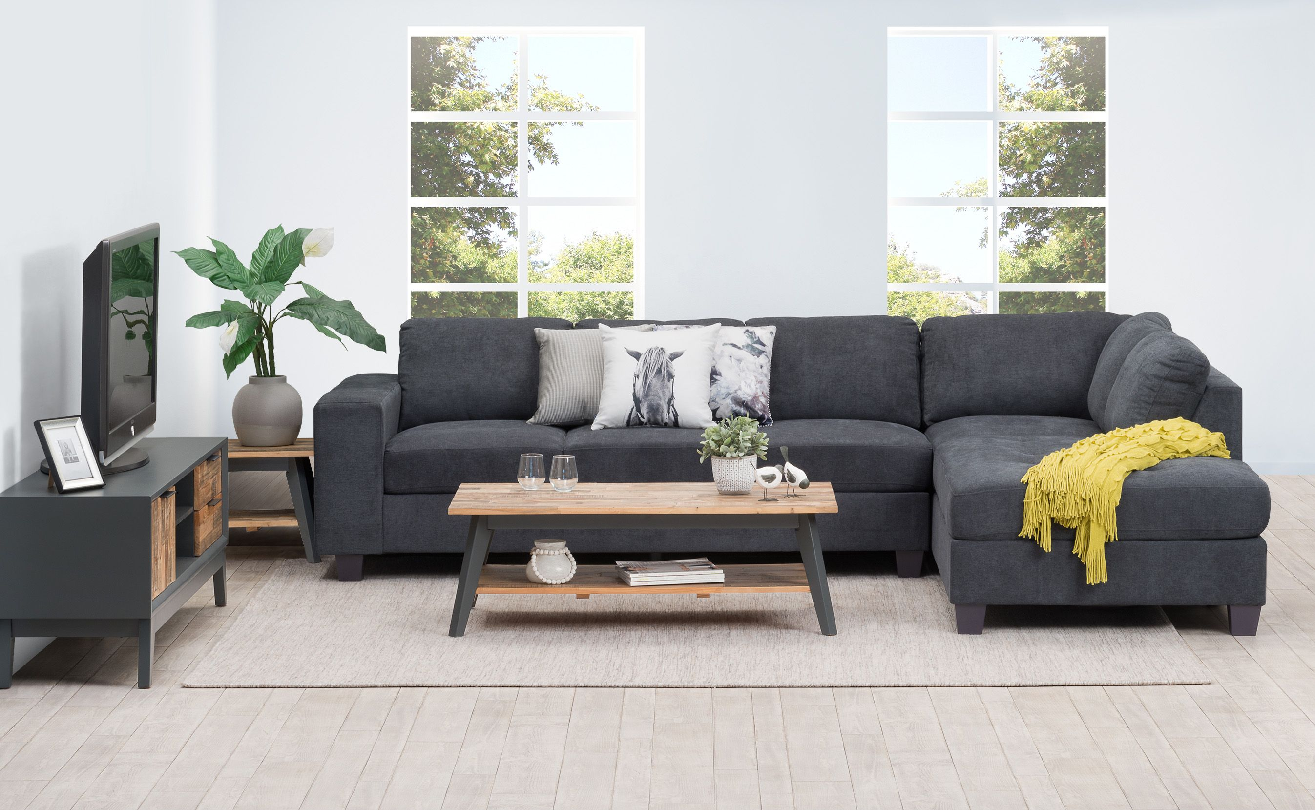 Ellen Quality Corner Sofa Comprising Of A 3 Seater Plus Corner Chaise Chaise Is Available On Either The Left Or Right Hand Side Furniture Grey Corner Sofa Corner Sofa