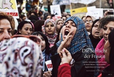 Außerdem im neuen Heft: Revolution der Frauen - auf dem Tahrirplatz in Kairo stürzten sie ihren Diktator. Heute werden dort Ägypterinnen vergewaltigt. Wie sich junge Frauen gemeinsam gegen sexuelle Gewalt wehren.